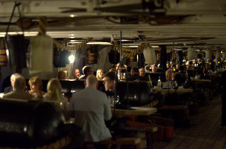 Dining on HMS Warrior