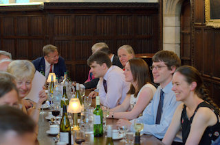 Dinner in Christ's College